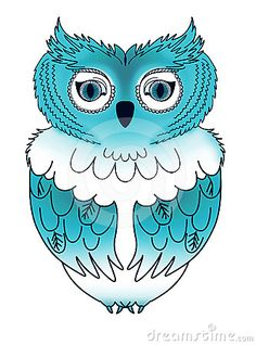 'Blue Owl' by Grizsys
