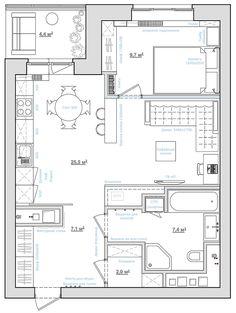 Студия Однушечка - дизайн однокомнатных квартир | Пушкино
