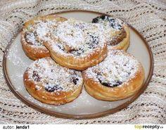 Svatební rohové koláče recept - TopRecepty.cz