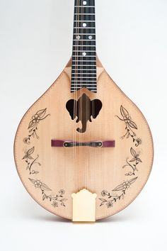Ganesh sound hole Mandolin by celentanowoodworks on Etsy, $1,200.00