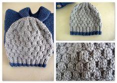 Avant de vous donner le dernier modèle de veste col châle que j'ai tricoté je partage avec vous le petit bonnet assorti.  ... Granny Square Häkelanleitung, Granny Square Crochet Pattern, Double Crochet, Crochet Gifts, Crochet Baby, Bonnet Crochet, Hat Crochet, Hairpin Lace Crochet, Crochet Amigurumi Free Patterns
