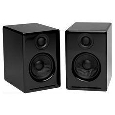 Audioengine: A2 Powered Desktop Speakers - Black (A2B)