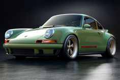 A Custom 1990 Porsche 964, The First In A Limited Edition Series Porsche 964, Porsche 911 Singer, Porsche Carrera, Porsche Cars, Super Sport Cars, Super Cars, Boxer, Elf, Singer Vehicle Design