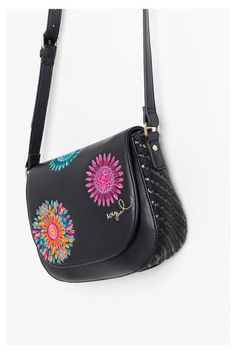 Desigual Small faux leather shoulder bag. Discover the new arrivals in our accessories collection!