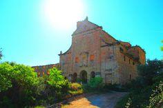 Convento del Desierto de Calanda bajo el sol