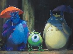 Totoro and Monsters!