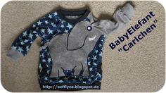 """Anleitung um mit einem Raglanschnittmuster (nicht enthalten) einen Elefanten Pulli zu nähen I BabyElefant """"Carlchen"""" ★ Tutorial II"""