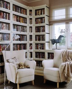 i love my love book Home Library Rooms, Home Library Design, Home Libraries, House Design, Library Inspiration, Home Decor Inspiration, Diy Storage Sofa, Bookcase With Glass Doors, Bookshelf Design