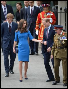 Harry, Kate, and Wills at the Tower
