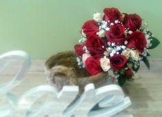 Boquet roses rojes