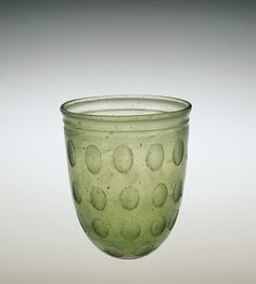 Roman Glass: Beaker, probably 325-375 | Corning Museum of Glass
