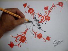 Resultado de imagen para mariposas para dibujar a lapiz