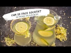 Vei afla pas cu pas cum se face socata. Rețeta tradițională de suc natural din flori de soc, zahăr și lămâie, foarte aromat și ușor acidulat. Deserts, Lime, Nature, Video Clip, Syrup, Iced Tea Recipes, Desserts, Naturaleza, Dessert