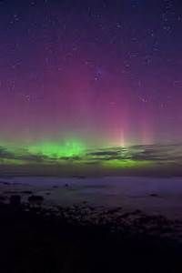 Aurora Australis in New Zealand - Living in Another Language