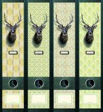 diy ordnerr cken dots grau schmal von das papierb dchen auf herzensthemen. Black Bedroom Furniture Sets. Home Design Ideas