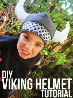 Tutorial - A Viking Helmet - Sew Pretty Sew Free