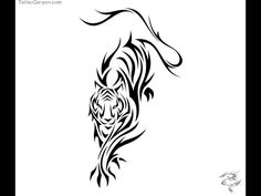 Viewing Gallery For - Tiger With Wings Tattoo Meaning