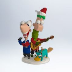 1 X Perry Christmas  Phineas and Ferb 2012 Hallmark Ornament -- Be sure to check out this awesome product.