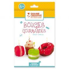 Kit bougie à modeler enfant - Les bougies gourmandes à faire toi-même