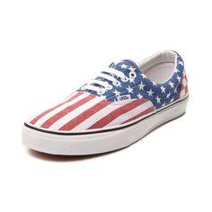 Vans Era Stars & Stripes Skate Shoe