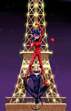 Ladybug and Cat Noir by ArtofSyo on DeviantArt Miraculous Ladybug Wallpaper, Miraculous Ladybug Anime, Ladybug Comics, Miraclous Ladybug, Lady Bug, Ladybugs Movie, Ladybug Und Cat Noir, Music Drawings, Marinette And Adrien