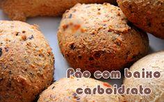 Mini pão salgado - Receitas low carb #lowcarb #receitas #light #academia #dieta #fit