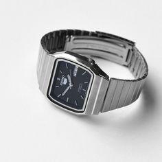 SEIKO(セイコー)- SEIKO 5 AUTOMATIC (NAVY) 自動巻き腕時計 SNXK97J1角型 | 通販 - FENEST - 東京 新宿 取扱販売店舗