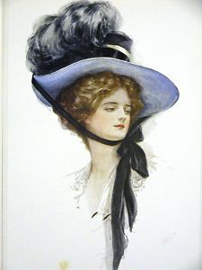"""Harrison Fisher """"Certain Young Lady"""" 1908"""