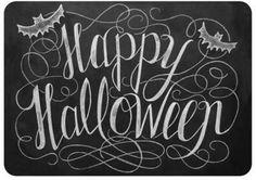 Trick Or Treat Sign Halloween Chalkboard Art Halloween