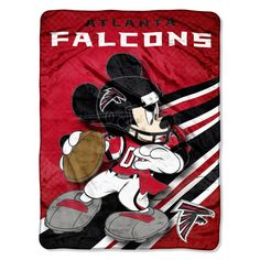 Use this Exclusive coupon code: PINFIVE to receive an additional 5% off the Atlanta Falcons Mickey Mouse Micro Raschel Throw at sportsfansplus.com