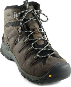 I have large, wide feet that are hard to fit.  These Keen boots have a large toe box and are breathable.  I have hiked over Sierra granite and through shady Redwood forests...My Keen boots have performed very well.