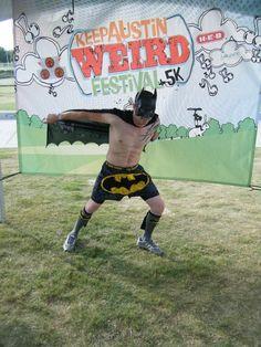 Annual Keep Austin Weird 5K Run Festival~ & Bats