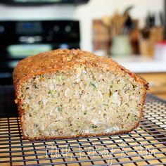 Zuchini coconut bread