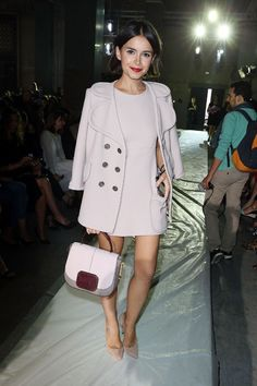 Fashion Week Front-Row Regular Miroslava Duma Is Our Glamour Style Icon of the Week
