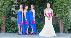 Wer überlegt ein Meerjungfrau Brautkleid für die Hochzeit auszuwählen, bekommt in unserer Fotostory einen Einblick, wie toll dieser Stil aussehen kann... Bild: © Red Eye Collection