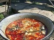 Halászlé - recept na  rybaciu polievku Halaszle