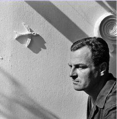 Patrick Leigh Fermor - regarded as Britain's greatest travel writer. Walked across Europe in 1933 at age sleeping in barns along the way. Died in 2011 at age Patrick Leigh Fermor, Writers, Authors, My Heart Is Breaking, Old Photos, The Past, Composers, Barns, December