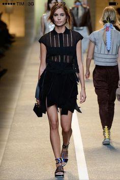 Fendi spring 15 Milan Fashion Week