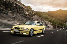 BMW E36 Coupé Dakar Yellow by Anoop Jahul on 500px