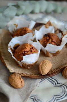 Muffins au fromage de chèvre et noix #recette #apéritif #Muffins #fromage #chèvre #noix