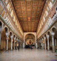 Ravenna, Basilica di Sant'Apollinare Nuovo.