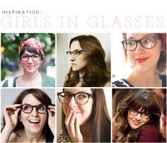 Girls in big glasses