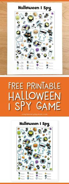 free printable halloween i spy game | printable activities for kids
