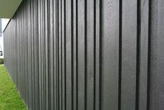 Black oak gevelbekleding | Carpentier Hardwood Solutions