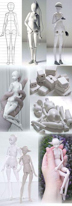 Progress of a doll by ladymeow.deviantart.com on @DeviantArt