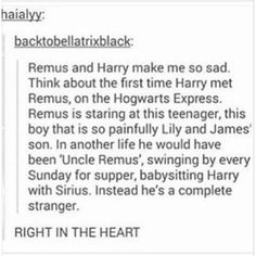 sirius and james