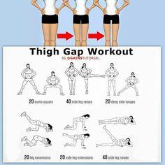Thigh gap workout