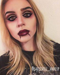 vampire Halloween Makeup @sadieshill_makeup