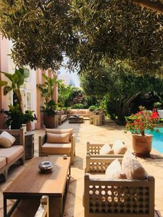 Riad Agadir - 5 Merveilleuses Maisons Traditionnelles Marocaines Outdoor Decor, House, Ideas, Gardens, Courtyards, Traditional Homes, Terraces, Haus
