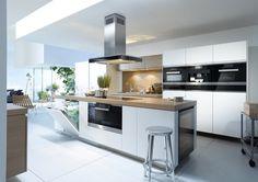 l vorm keuken luxe met wijnkoelkast - Google zoeken